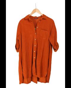 Löwenstein Happy Skjorte Fløjl Orange